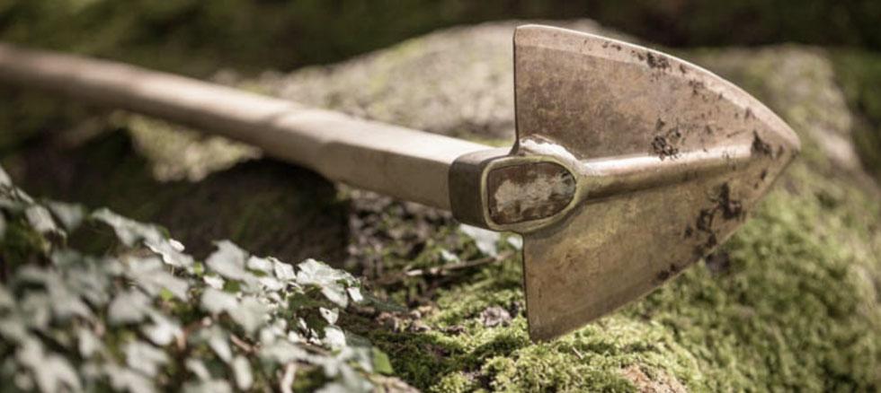 Kupferwerkzeug für den Garten von PKS Bronze bei www.the-golden-rabbit.de