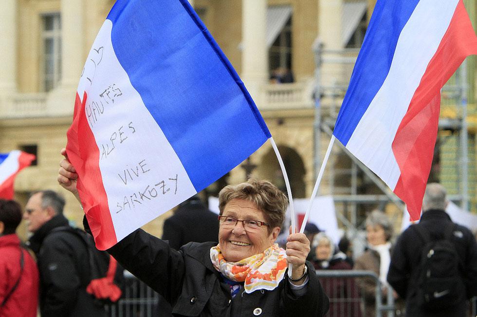Discours de Nicolas Sarkozy. Place de la Concorde. 15 avril 2012.