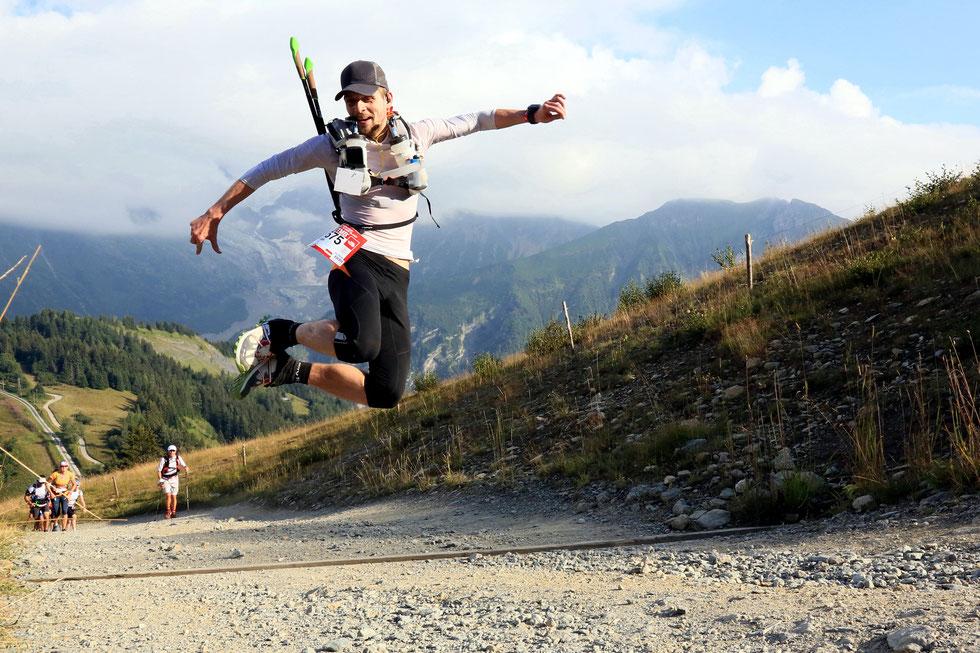 Ultra Trail du Mont-Blanc. Août 2013. Saint-Gervais-les-Bains.