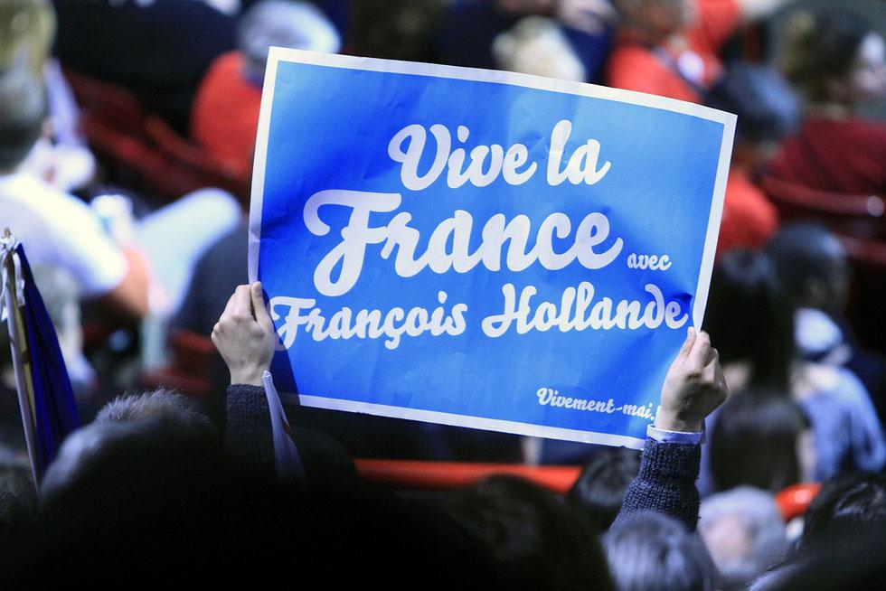 Discours de François Hollande. Bercy. 29 avril 2012.