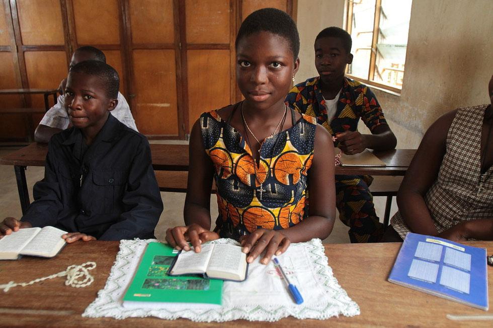 Cathéchisme. Lomé. Togo.