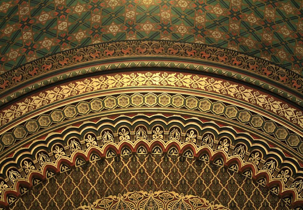Synagogue Espagnole. Prague.