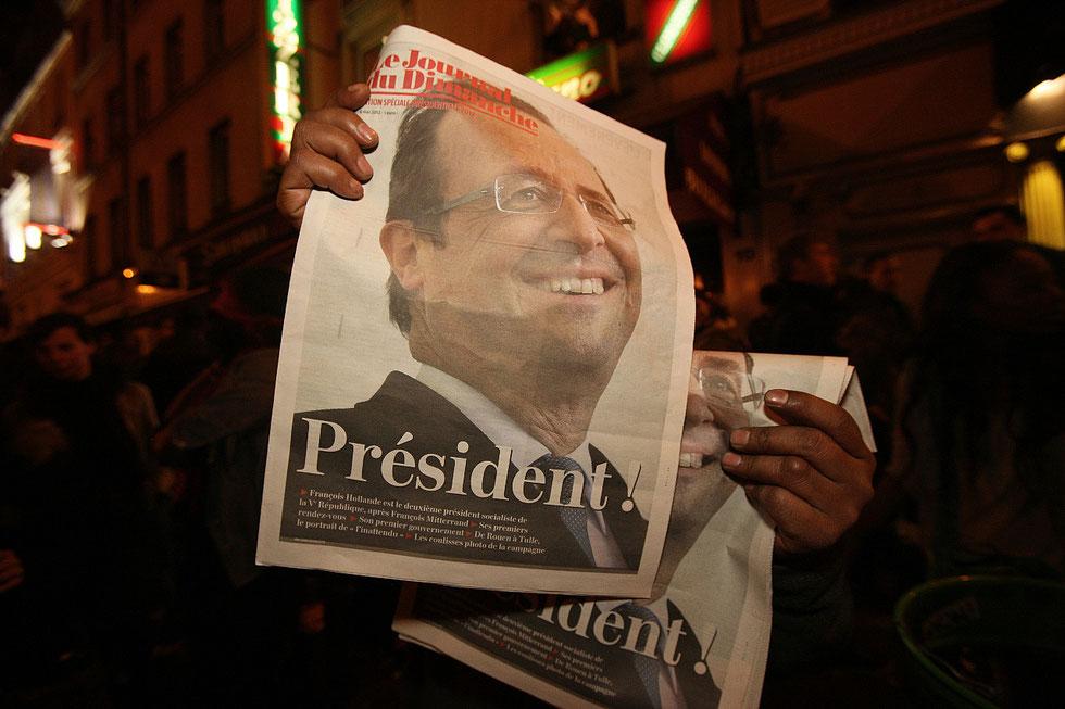 Elections Présidentielles. Place de la Bastille. 6 mai 2012.