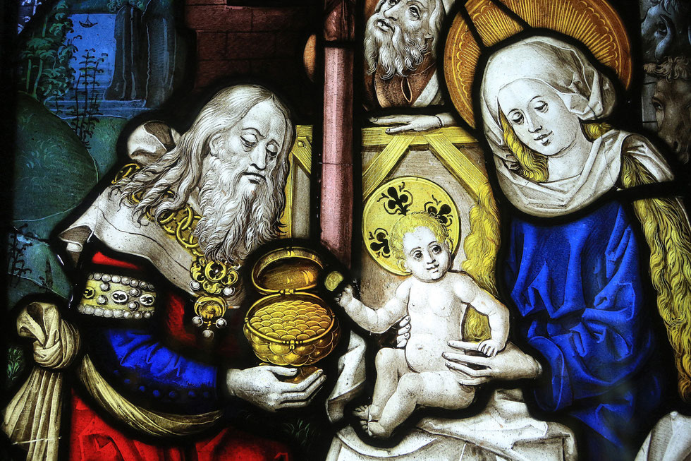 Adoration of the Magi. Oeuvre Notre Dame Museum in Strasbourg.