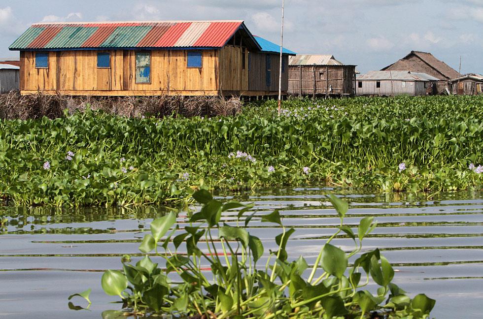 Cité lacustre sur le lac Nokoué. Ganvié.