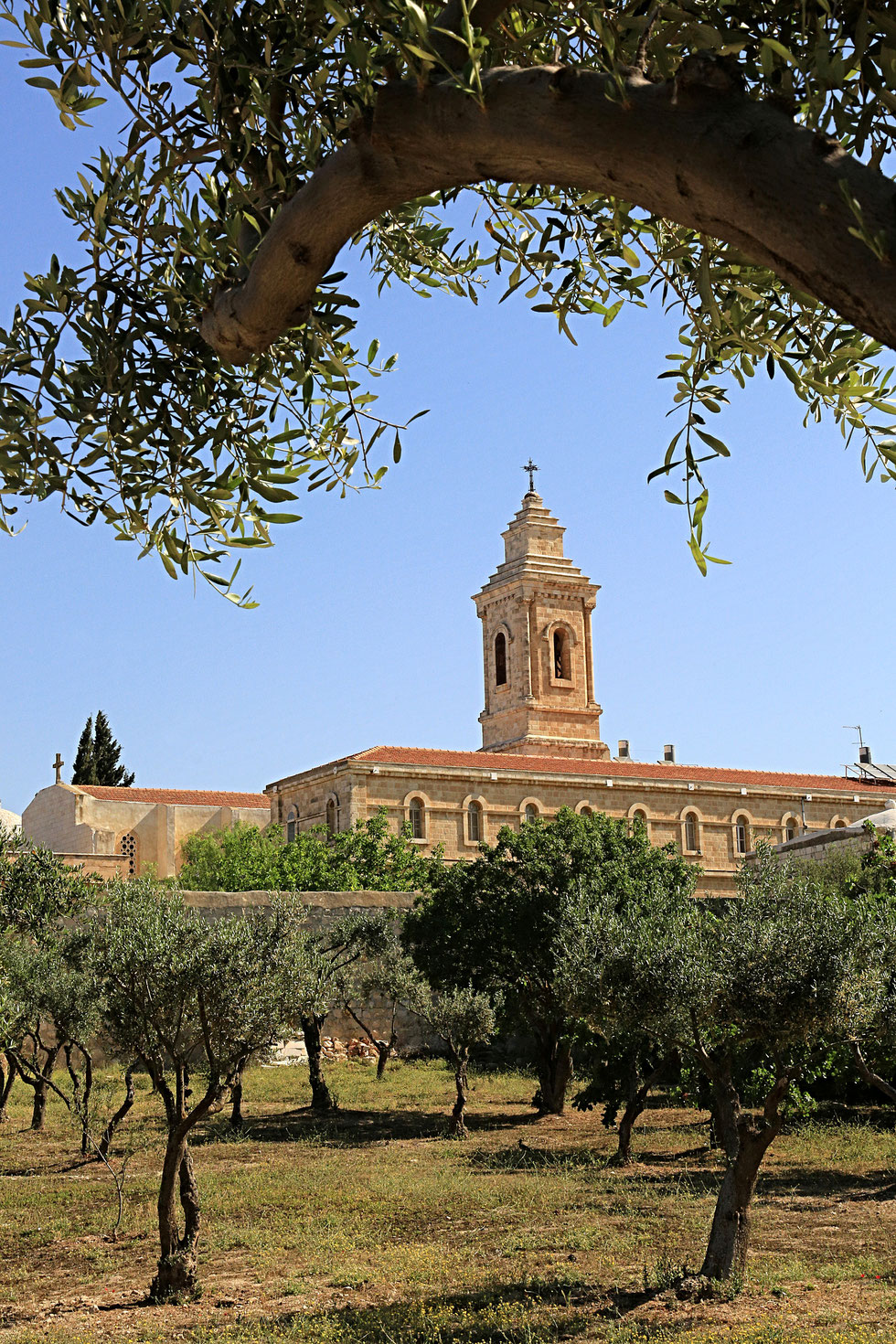 The Church of Pater Noster on the Mount of Olives. Jerusalem. Israël.