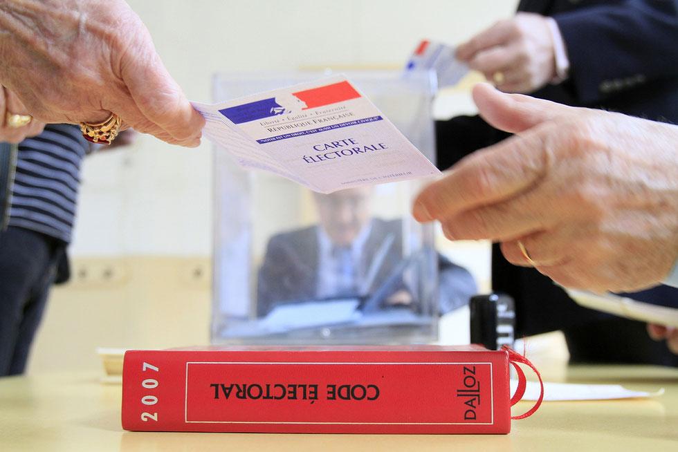 1er Tour des Présidentielles.  Le vote. 28 avril 2012.