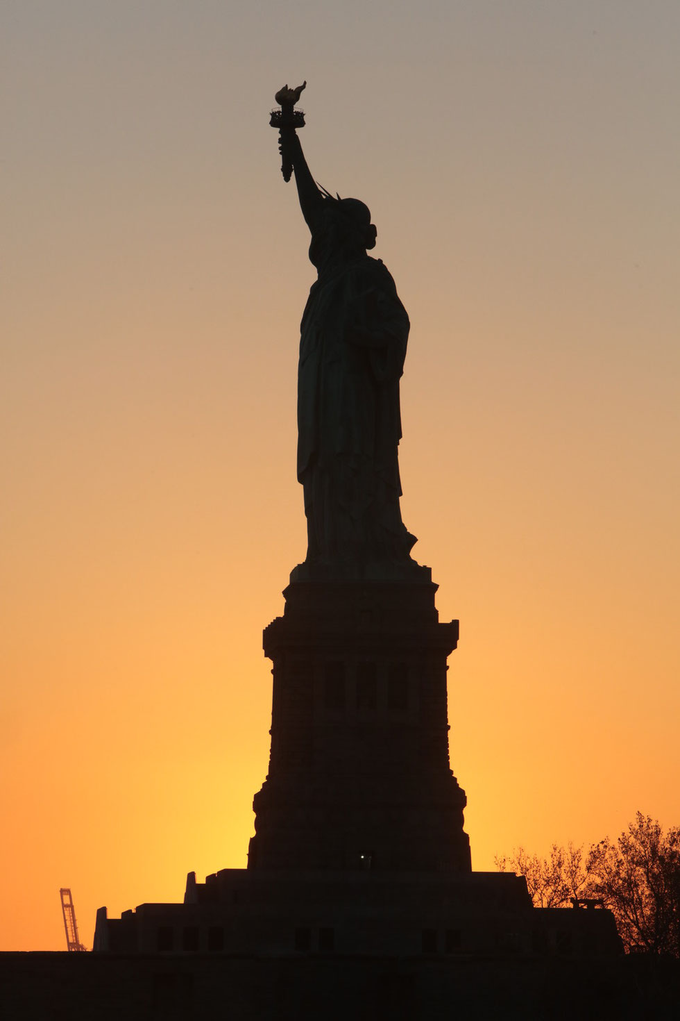 Liberty Island. Statue of Liberty National Monument. Auguste Bartholdi. 1886.