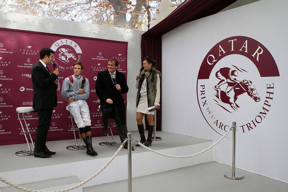 Prix de l'Arc de Triomphe 2012. Hippodrome de Longchamp.