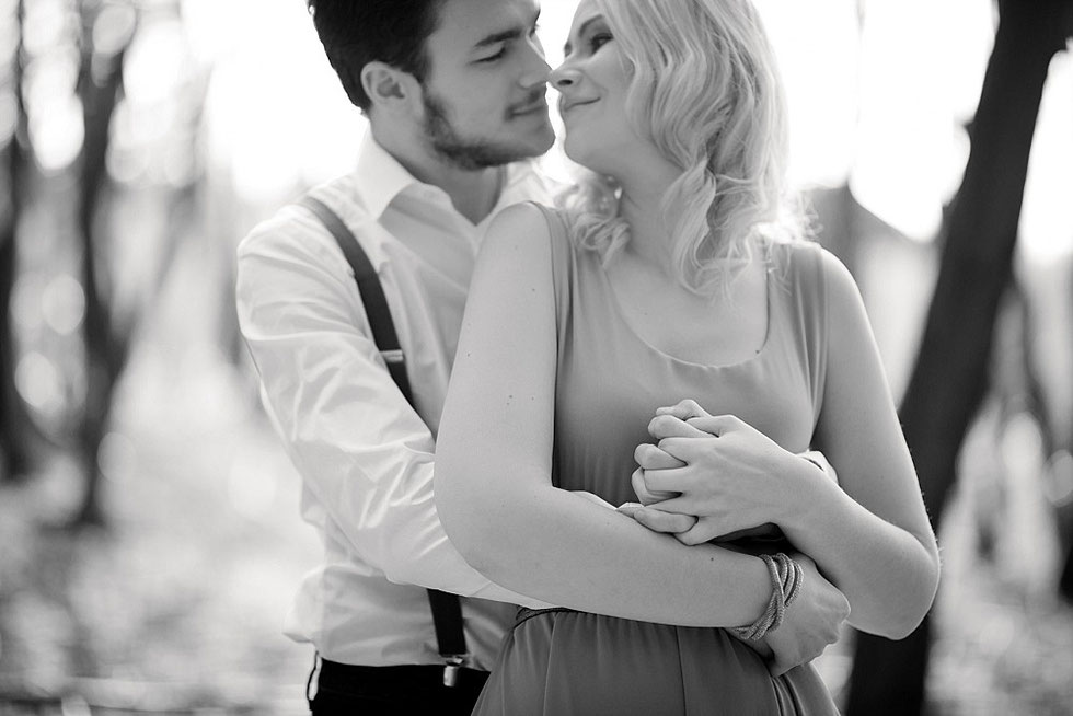 Verlobungsfotos Wald Julia Kollmann Photography