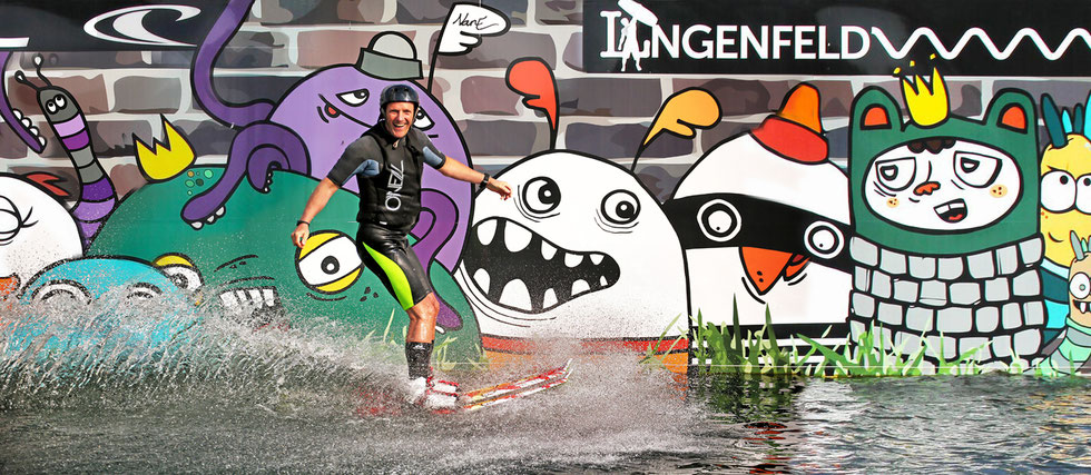 Wakeboarding in Langenfeld