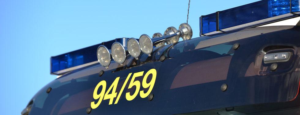 Fahrzeugübergabe - Neuer Gerätewagen-Logistik 2 für die FF-Havighorst.