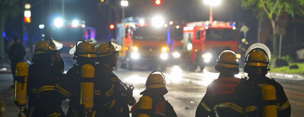 08.08.2015 - Bahrenfeld - Feuer im Hochbunker.
