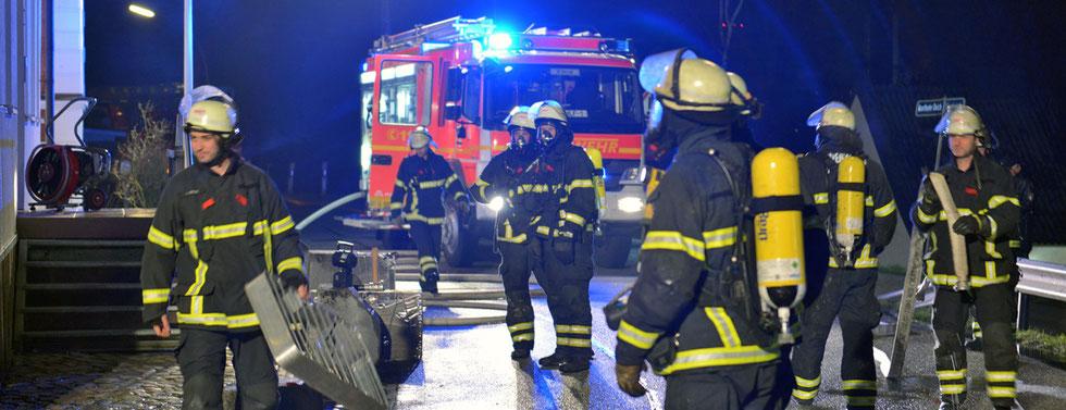 06.03.2016 - Moorfleet - Wohnung ausgebrannt.