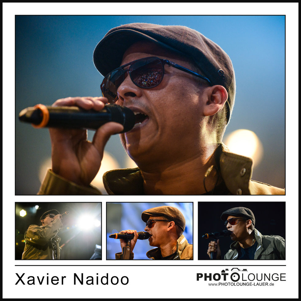 Münchner Sommernachtstraum 2014: Xavier Naidoo