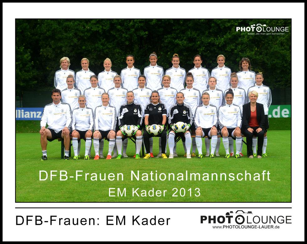 DFB-Frauen: EM Kader 2013
