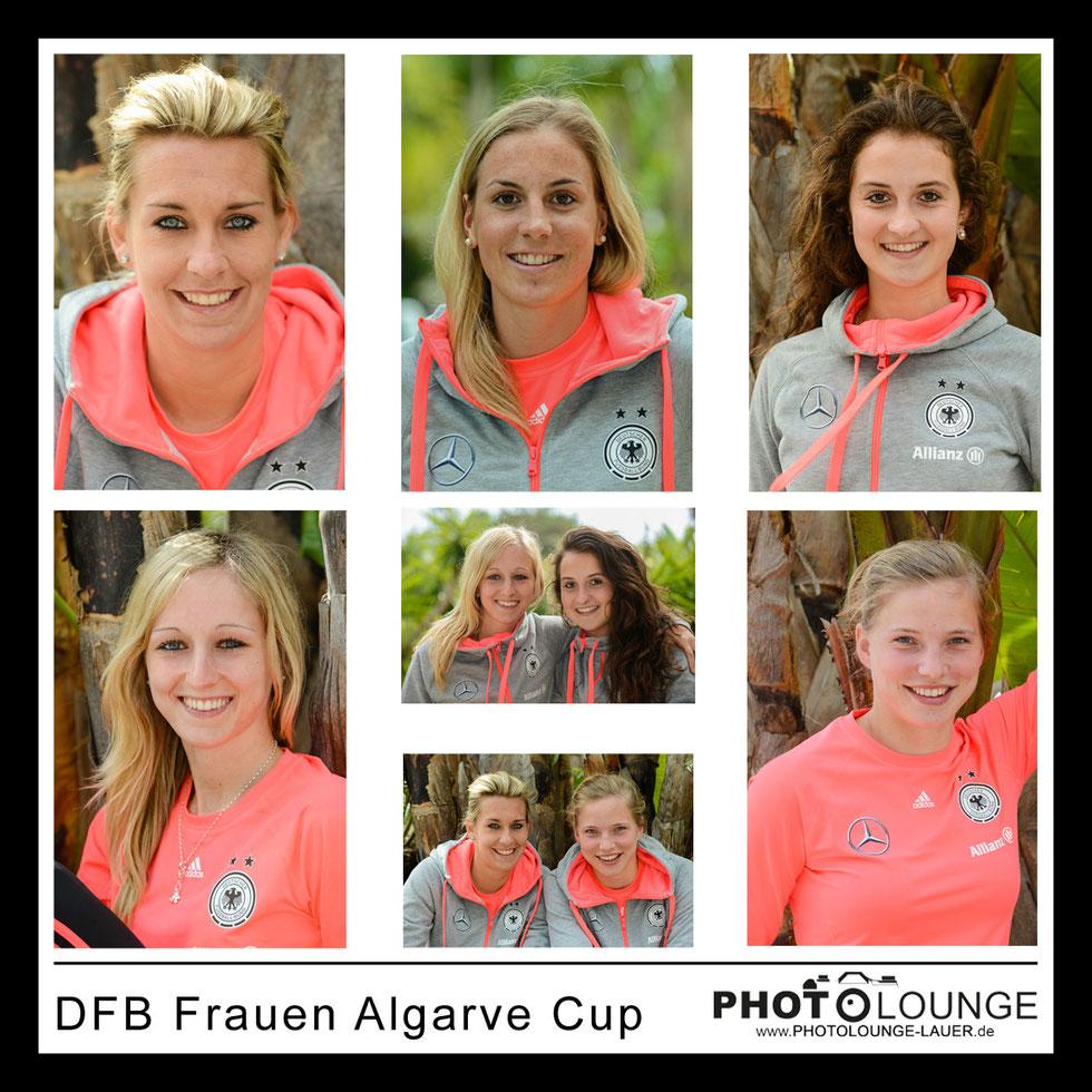 DFB Frauen beim Algarve Cup 2014