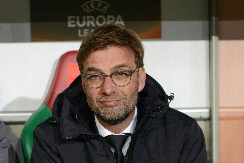 Jürgen Klopp als Liverpool-Trainer zum ersten Mal in Deutschland