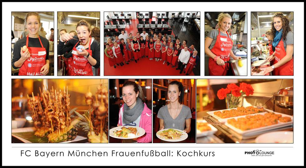 FC Bayern München Frauenfußball: Kochkurs