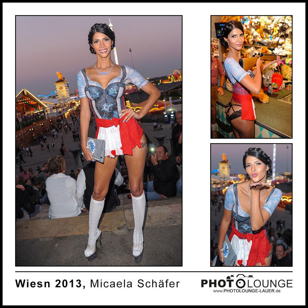Oktoberfest 2013: Micaela Schäfer