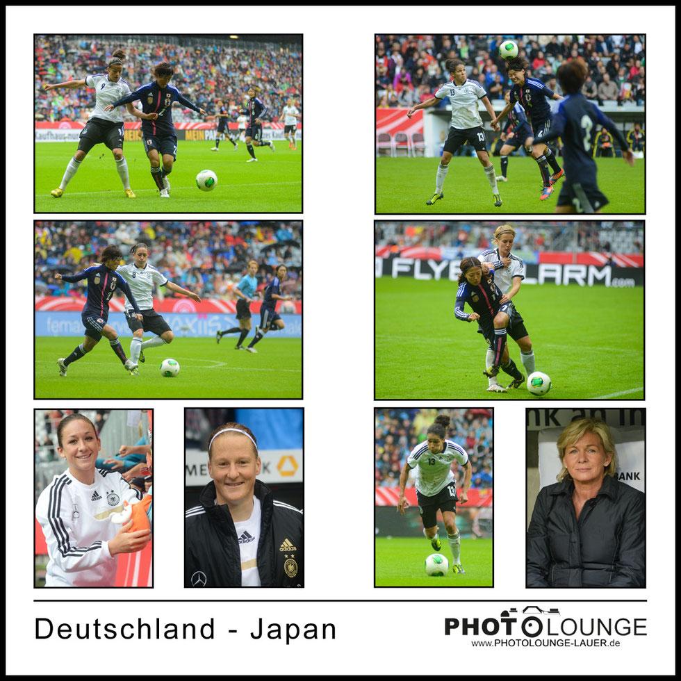 Freundschaftsspiel Deutschland - Japan in der Allianz Arena Muenchen
