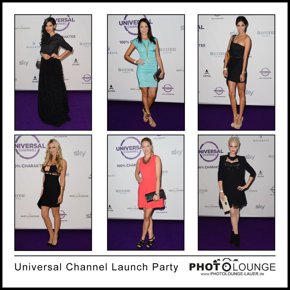 """Universal Channel Launch Party"" am 04.09.2013 in Muenchen"
