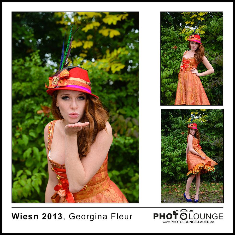 Oktoberfest 2013: Georgina Fleur