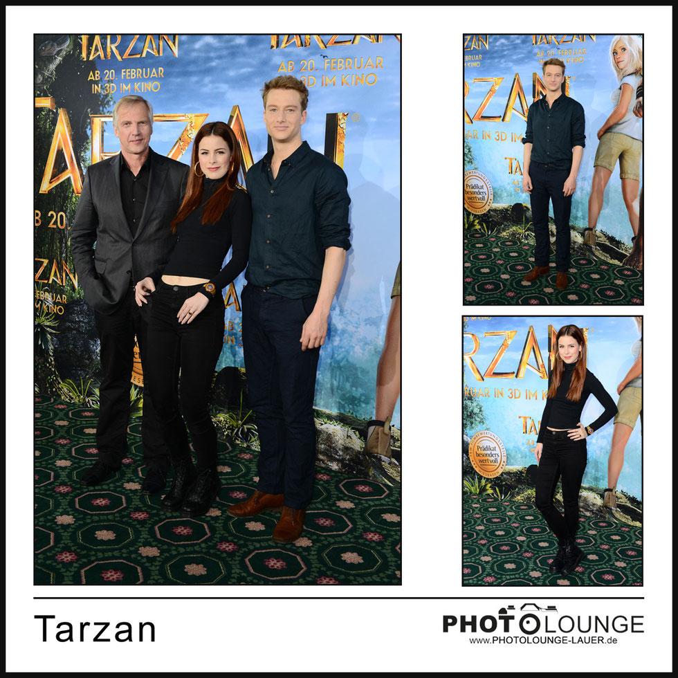 "Photocall ""Tarzan"""