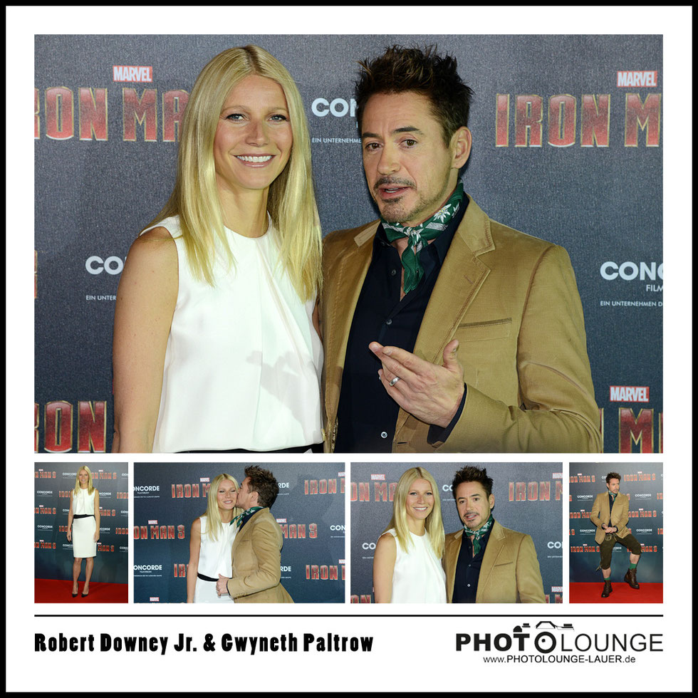 Robert Downey Jr. & Gwyneth Paltrow
