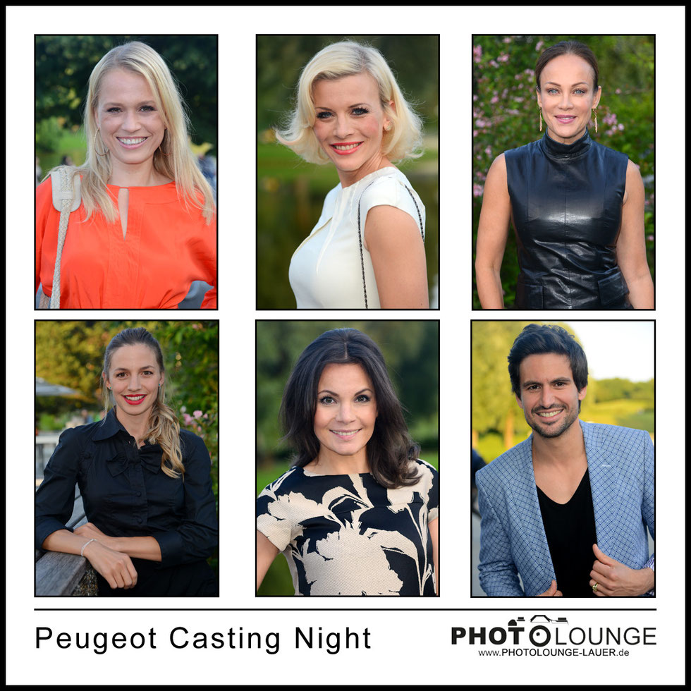 Peugeot Casting Night im Olympiaturm München