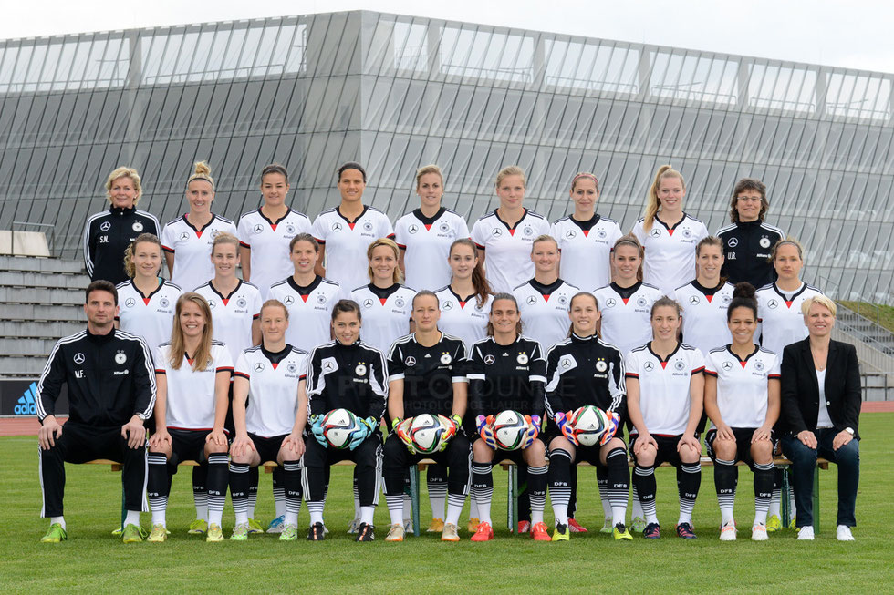Mannschaftsfoto DFB Frauen Nationalmannschaft