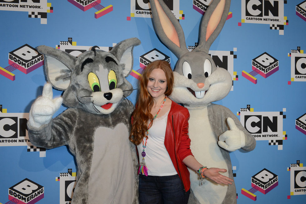 Barbara Meier beim Cartoon Network Family Day 2015