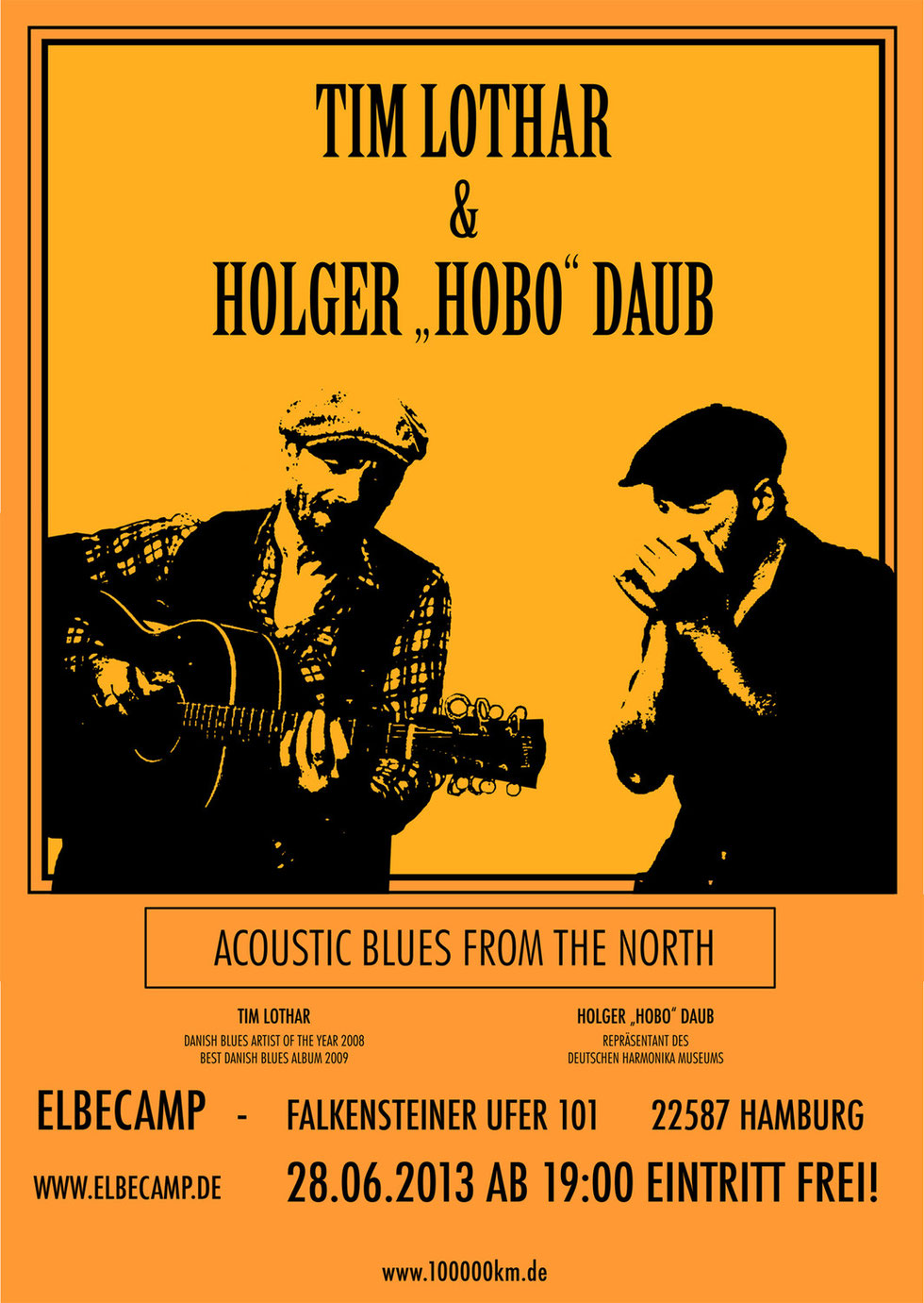 "Tim Lothar & Holger ""HOBO"" Daub - Blues From The North"