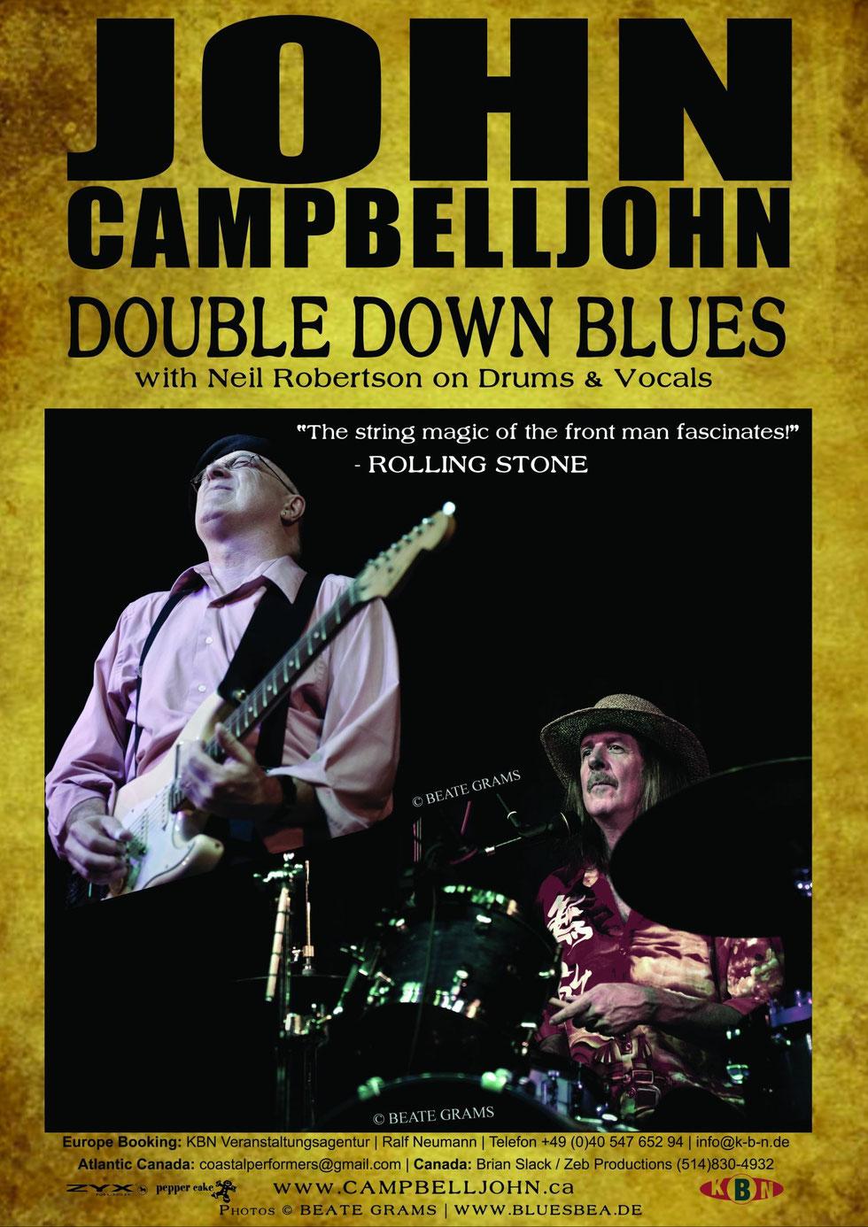 John Campbelljohn Double Down Blues