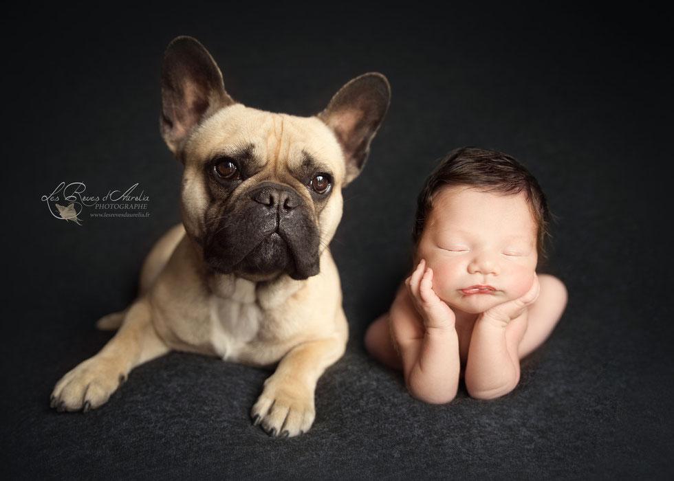 Photographe bébé animaux dans le Var Aubagne, Brignoles, St Maximin, Ste Maxime, Toulon, Hyères