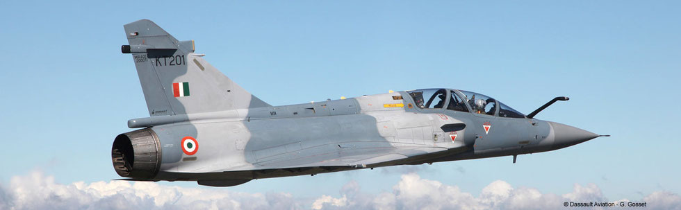 Esemplare biposto Mirage 2000 TI