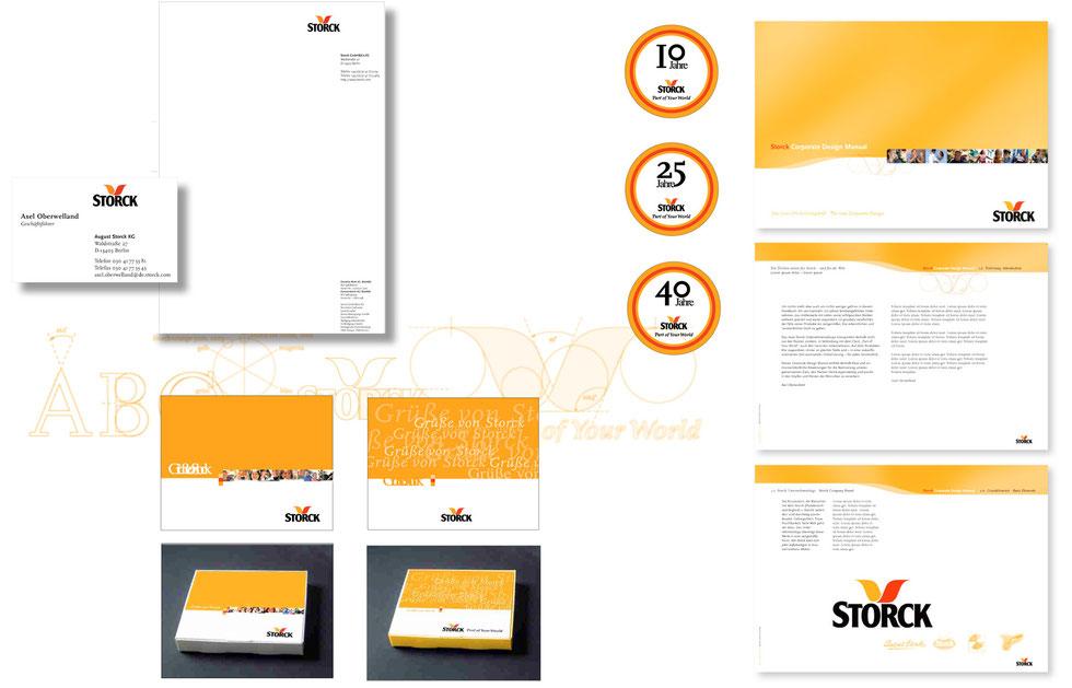 Pahnke Markenmacherei GmbH & Co. KG, Hamburg // Storck AG | Design Guideline | Corporate Design | Verpackung