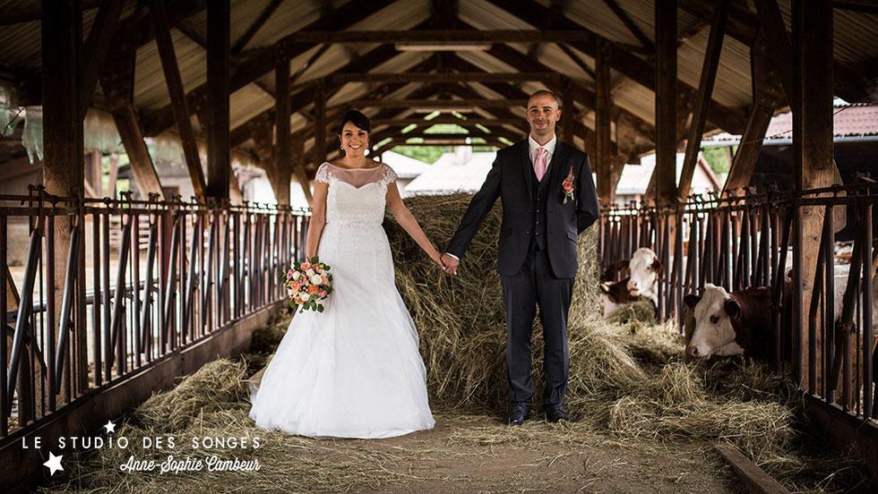 Le Studio des Songes - Anne-Sophie Cambeur - Mariage Champetre Jura Doubs Franche Comté Photographe wedding Dijon