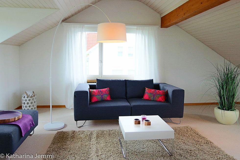 Immobilien Styling für den Verkauf - Home Staging Katharina Jemmi