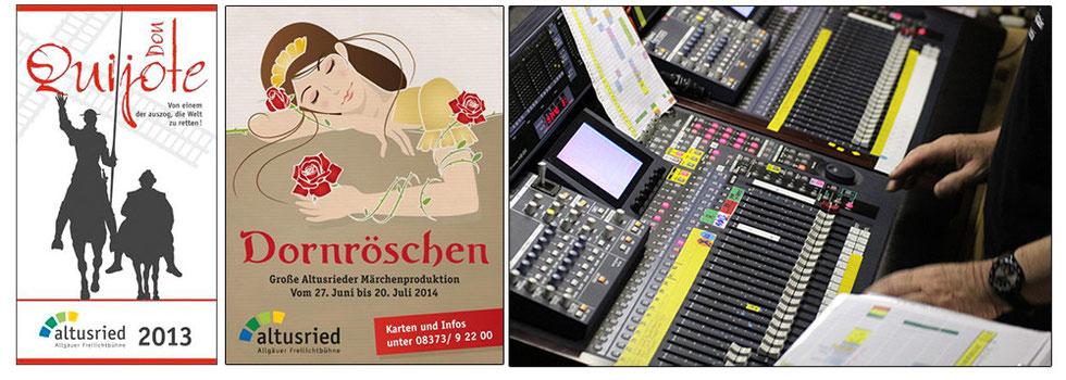 Bild: Freilichtbühne Altusried Tontechnik