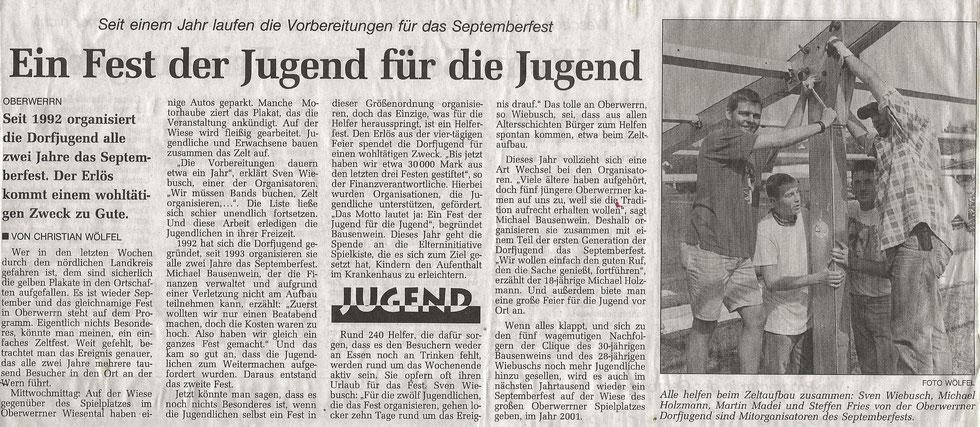 10.09.1999 Schweinfurter Tagblatt