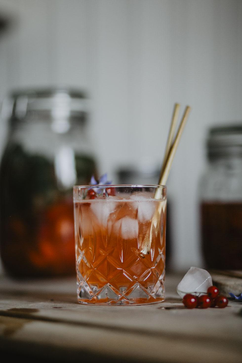 Botanik zum Trinken - Johannisbeer Shrub