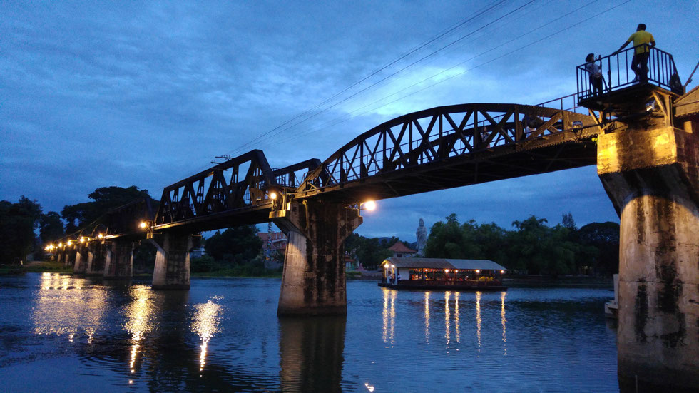 The Bridge Over The River Kwai, Kanchanaburi