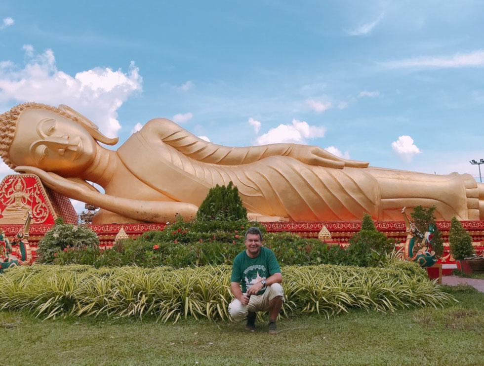 Der Autor, Vientiane, Oktober 2018