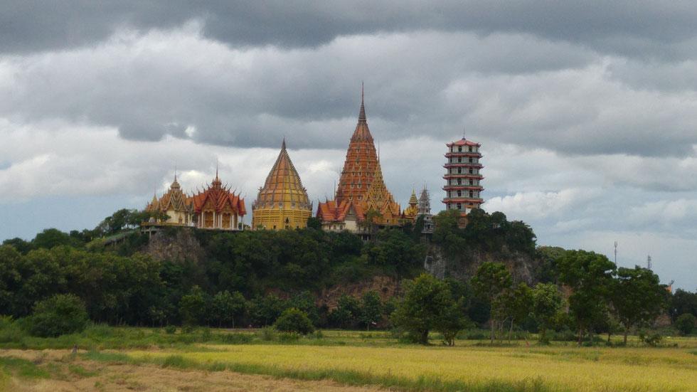 Wat Tham Sua and Wat Tham Khao Noi, Kanchanaburi