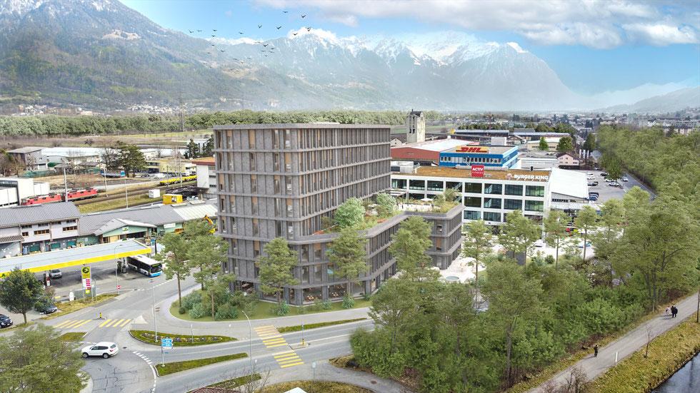 Überbauung Rössli Brülisauerstrasse Steinegg Appenzell