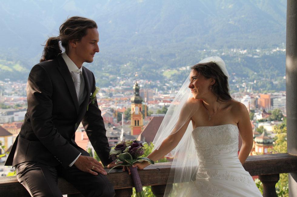 Das Hochzeitspaar: Ananda & Daniel Lerch-Holz