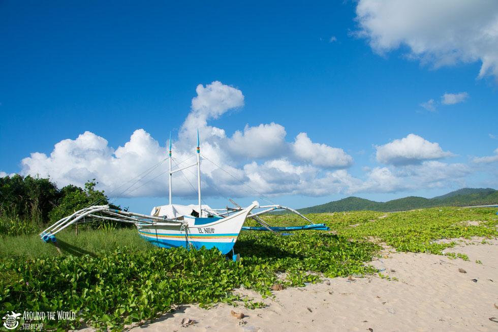 Calitang beach el nido palawan|aroundtheworldstepbystep.com