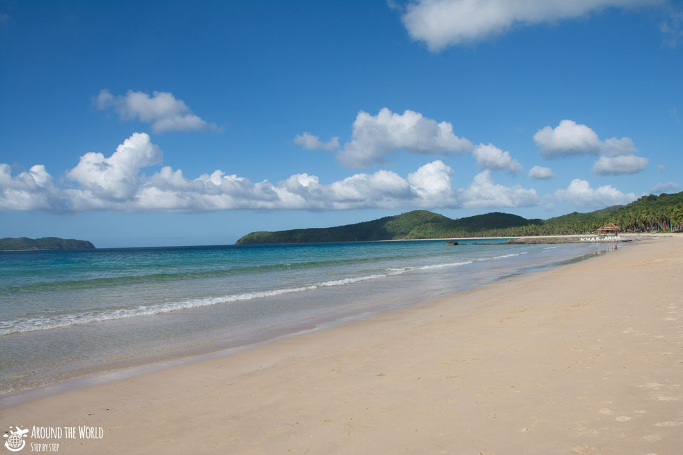 nacpan beach el nido palawan|aroundtheworldstepbystep.com