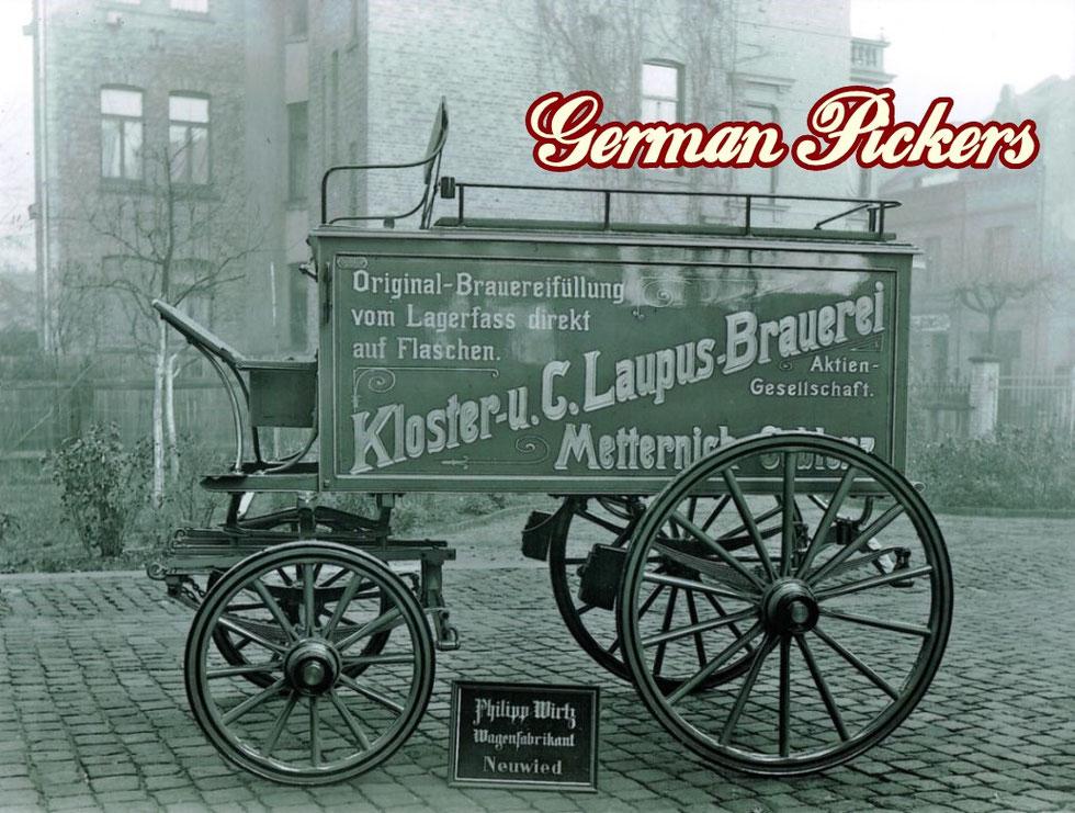 Klosterbrauerei Metternich Coblenz / Koblenz - Kloster - u. C. Laupus-Brauerei